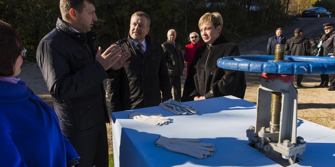 Губернатор Марина Ковтун оценила успешное применение труб ПВХ-О MOLECOOL в Североморске