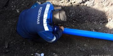 Реконструкция водопровода с применением труб ПВХ-О MOLECOOL в п.Куйбас, г.Магнитогорска